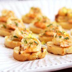 Shrimp Bruschetta al Limoncello Recipe
