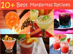 10+ Best Margaritas Recipes you will love to try on ladies night. Love these margaritas recipes :)