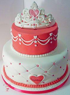 Torta Principessa con Corona -Princess Crown Cake