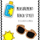 This is a measurement worksheet that can be used with standard or non-standard measuring. I hope you enjoy!  -Elizabeth   *I could not find the sou...