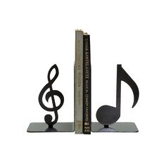 Treble Clef & 8th Note Bookends