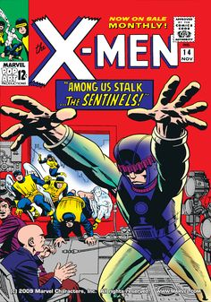 Uncanny X-Men 014 (1965) (digital)  First Appearance Of Sentinel Created By  Dr. Bolivar Trask