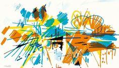 Douro © Nadir Afonso. Nadir Afonso, Gustav Klimt, Contemporary Art, Abstract Art, Artwork, Empire, Paintings, Kinetic Art, Oil Paintings