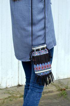 Fringe Crossbody bag - Affordable Style blogger