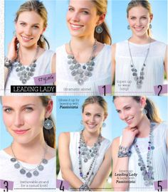 Leading Lady Necklace Combos with Passionista Necklace