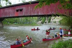 Turkey Run State Park - Marshall, Indiana is on the featured destination list for THE AMAZING CAMP-LAND RACE