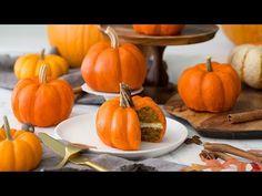 (131) How to Make Pumpkin Cakes - YouTube
