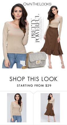 """""""9 ownthelooks"""" by melee-879 ❤ liked on Polyvore featuring top and ownthelooks"""