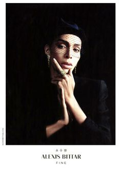Ines Rau for Alexis Bittar Jewelry SS 2014 by Willy Vanderperre - Fashion Copious