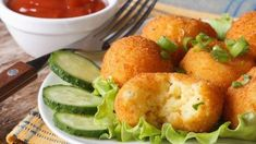 Cheese Potato Bites recipe by Deviyani Srivastava at BetterButter Loaded Mashed Potatoes, Cheese Potatoes, Potato Croquettes, Potato Bites, Cheese Bites, Hungarian Recipes, Appetizer Dips, Air Fryer Recipes, Vegetable Dishes