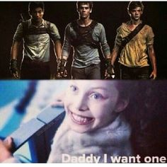 NEWT! NEWT! NEWT! Maze Runner ❤ liked on Polyvore featuring maze runner, pictures and quotes