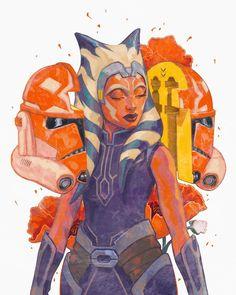 So much Star Wars (Posts tagged ahsoka tano) Star Wars Clones, Star Wars Clone Wars, Star Trek, Star Wars Fan Art, Star Wars Zeichnungen, Images Star Wars, Star Wars Drawings, Asoka Tano, Star Wars Wallpaper