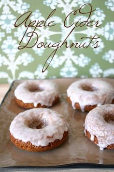 apple cider donuts by thelma
