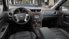 2015 Chevy Traverse interiors
