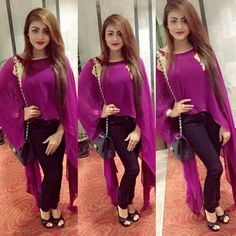 And the award goes to miss Beauty Dress Shirts For Women, Clothes For Women, Girl Fashion, Fashion Outfits, Fashion Hub, Indian Look, Pakistani Dress Design, Pakistani Bridal, Kurta Designs Women