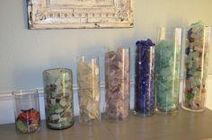 my sea glass collection, beach glass