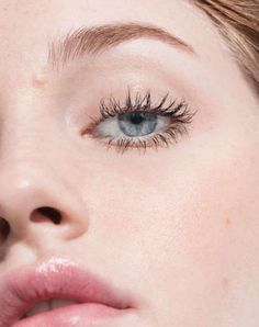 The new Lash Slick mascara from Glossier - on the eyes.