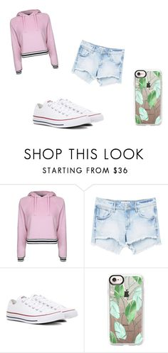 """""""My big sis's style"""" by lunamoon2-471 on Polyvore featuring Topshop, MANGO, Converse and Casetify"""