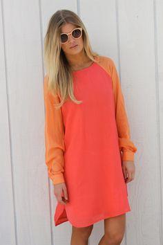 "Orange Sherbet ""Baseball Shirt"" Dress--- One size $25.99 (site lists price in euros)"