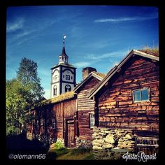 Ancient homes in Norway - Instagram photo by @olemann66Rørostravel Norway.com.  (Rosos, Norway)