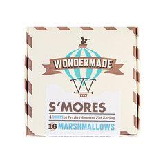 Box of Marshmallows, S'mores // whitesmercantile.com