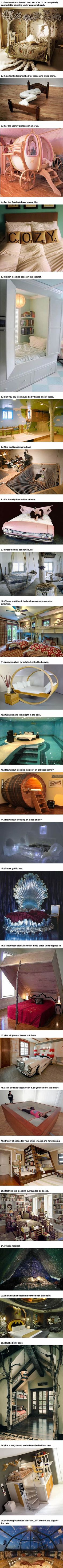 Warning: These 25 Amazing Beds Will Make You Wish It Was Nap Time.