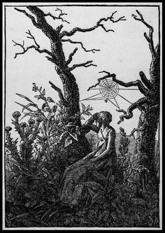 Woodcut by Caspar David Friedrich I