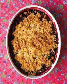 Blackberry Crisp Recipe from Martha Stewart
