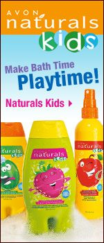 Avon Naturals for kids. Tear free and smell great