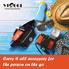 The unisex #waistpouch gives maximum comfort design and extra-durable material for long-lasting usage make it a popular choice in this line of travel accessories. Buy on www.viaggitravelworld.com