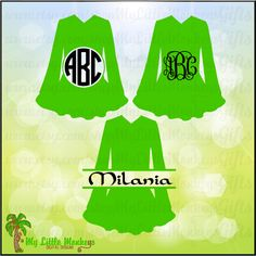 Irish Dance Costume Solid, Monogram and Split Designs Instant Download SVG, DFX file and High Quality 300 dpi JPEG - pinned by pin4etsy.com