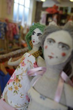 Veronika Lavey dolls display www.veronikalaveydesign.com