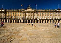 "Santiago de Compostela Carnival. Santiago de Compostela Carnival. ""Rajoy Palace"""