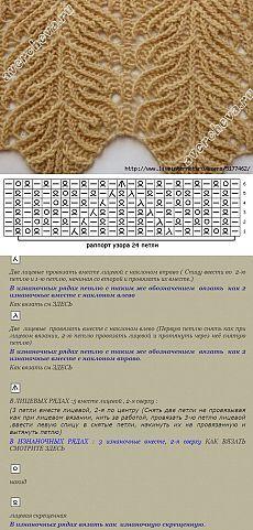 Strickmuster. Patron de tejer. Pattern for knitting.
