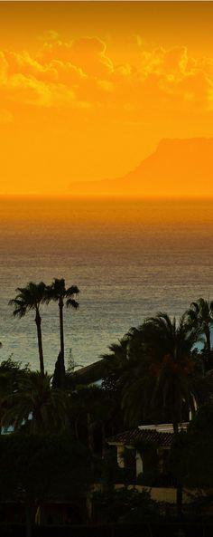 Sunset, Marbella, Spain