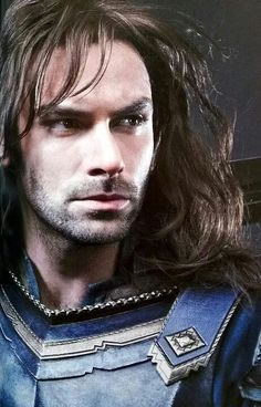 """New picture of Kili from The Battle of the five Armies. Oh goodness. I have no idea how to respond. 0_0"" - esse Kili..."