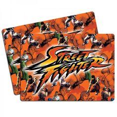 Jogo Americano Logo Street Fighter IV