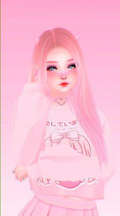 Aesthetic Japan, Aesthetic Anime, Wallpaper Iphone Cute, Aesthetic Iphone Wallpaper, Cartoon Girl Images, Tumbrl Girls, Virtual Girl, Baby Pink Aesthetic, Anime Makeup