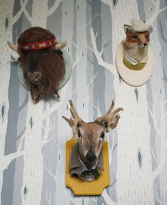 I would love a hippie buffalo head on my wall. Fake of course