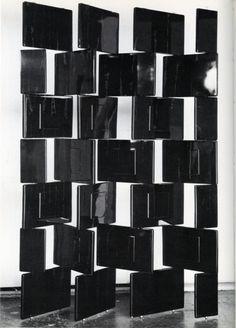 Eileen Gray Black Block Screen 1923