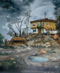 Home 2 Oilpaintingoncanvas  Painter.Selim Güventürk  40x50 cms.dim. Ankara