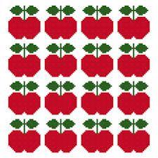 cross stitch apple pattern - Căutare Google