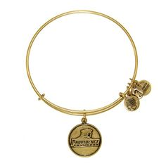 Providence College™ Logo Expandable Wire Bangle - Russian Gold - Collegiate - New Collections