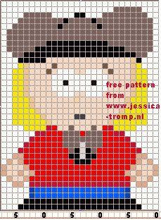 67 Free cross stitch designs southpark stitchingcharts borduren gratis borduurpatronen kruissteekpatronen