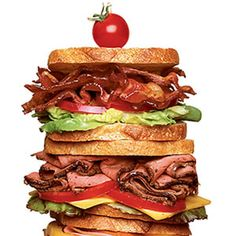 Dagwood Sandwich (This website has tons of great recipes)