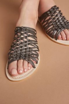 Slide View: 2: Seychelles Duel Knotted Slide Sandals