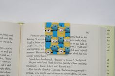 Minions Despicable Me Magnetic Bookmark Page. Great for books, novels and Erin Condren Life Planner and other planners. planning accessories. www.trulysimpleplanners.etsy.com