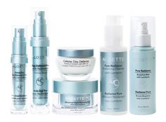 Aloette's Platinum Value Package is your fountain of youth!  Formulated with peptide technologies, this skincare regimen reduces signs of aging while nourishing the skin with its Aloe Vera base.
