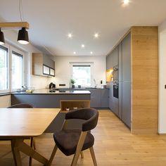 Open Plan Kitchen Dining Living, Living Room Kitchen, Kitchen Room Design, Interior Design Kitchen, Küchen Design, House Design, Home Remodeling, Home Kitchens, Kitchen Remodel