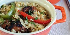 Italian Sausage and Pepper Rice